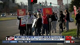 23ABC Sports: Local Let Them Play rally live interview