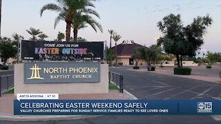 Celebrating Easter weekend safely
