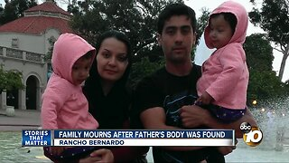 Family mourns after father is found dead in Imperial Beach