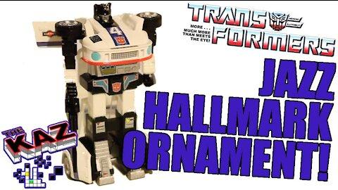 Jazz Transformer Hallmark Keepsake Ornament