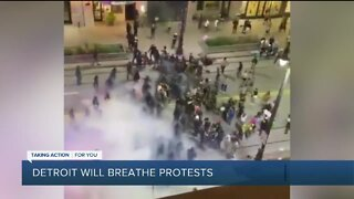 Detroit Will Breathe protesters address Saturday night demonstrations