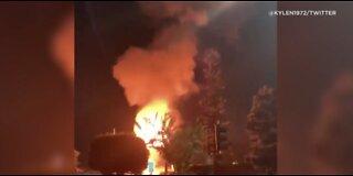 Huntington Beach officials update explosion crisis