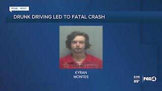 Drunk driving led to fatal crash
