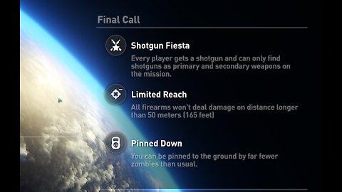 World War Z Weekly challenge - Shotgun fiesta - Normal difficulty