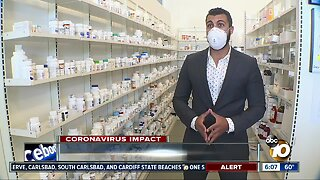Local 'essential business' employees begin wearing masks