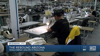 Peoria company transitions to creating PPE