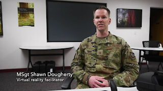 Interview DoD tests VR suicide prevention training at Scott and Travis AFBs