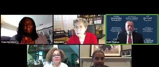 Community leaders gather for virtual prayer