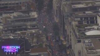 Massive COVID Anti-Lockdown Protest In London