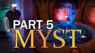 Oculus Quest 2 - Beginner Tries MYST VR - Part 5