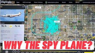 Spy Plane Circles Above Arizona 2020 Election Audit!