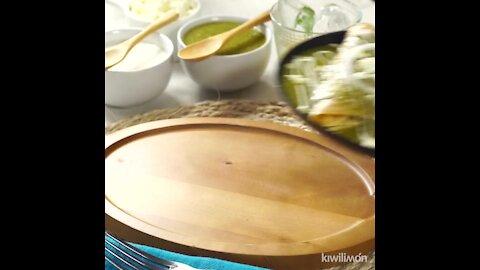 Delicious Green Enchiladas