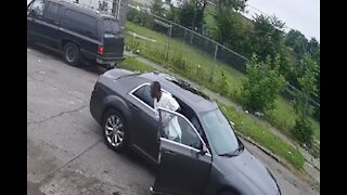Police seek gunman who injured a father and his 11-year-old son in Detroit