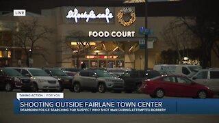 Shooting outside Fairlane Town Center