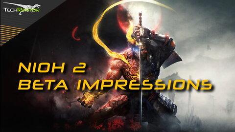 Nioh 2 Open Beta Impressions