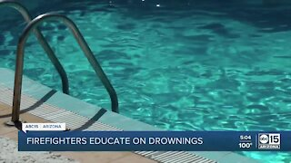 Valley fire departments continue drowning prevention efforts