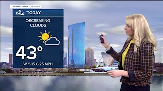Partly cloudy Friday morning turns into sunny afternoon