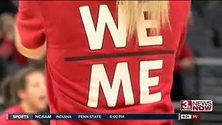 Huskers Hold Open Practice at Final Four