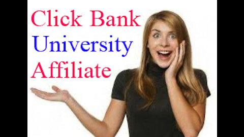 Click Bank University