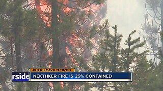 Nethker Fire burns over 2,000 acres