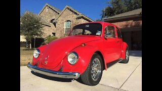 Vintage Volkswagen Beetles