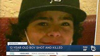 12-year-old dies following Chula Vista shooting