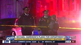 """BPD Commissioner Harrison talks of """"colossal task"""" ahead"""