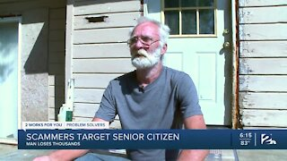 Scammers target senior citizens