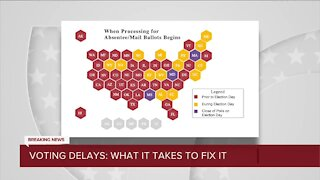 What will it take to fix voting delays?