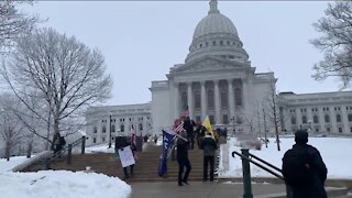 Protesters gather in Madison