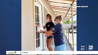 Firefighters deliver meals to Las Vegas area families ahead of Burn Foundation's annual auction