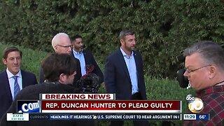 Rep. Duncan Hunter to plead guilty