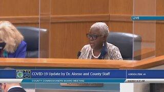 Palm Beach County mask mandate discussion