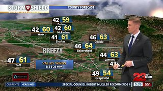 Early morning forecast 12/5