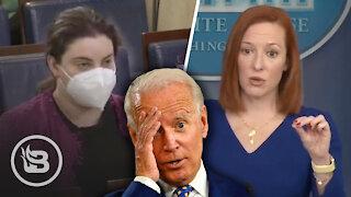 Reporter Confronts Press Sec. Over Biden's Failed Promises To Deliver Stimulus Checks