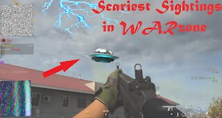 Scary Moments Recorded in Call of Duty Modern Warfare! WARZONE