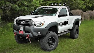 TOYOTA TACOMA THROWBACK DECALS