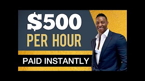This Website Pays 500 Per Hour Instantly   Make Money Online 2021