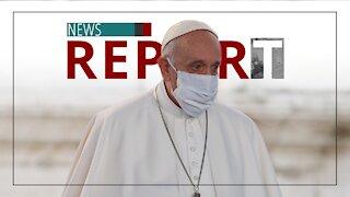 Catholic — News Report — Vatican Administers COVID SHOT