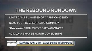 Managing your credit cards during the pandemic