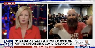 NY Business Owner SHREDS Gov. Cuomo, Rips Up His Citation Live On-Air