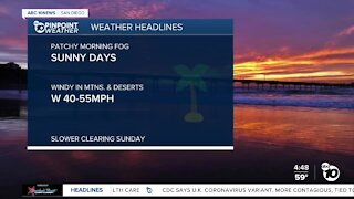 ABC 10News Pinpoint Weather with Meteorologist Megan Parry