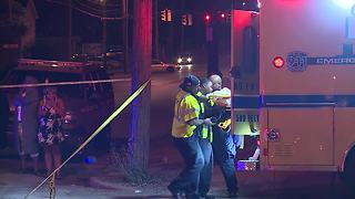 Man shooting into home leads police on chase