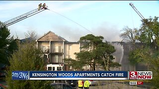 OFD battles two separate apartment building fires