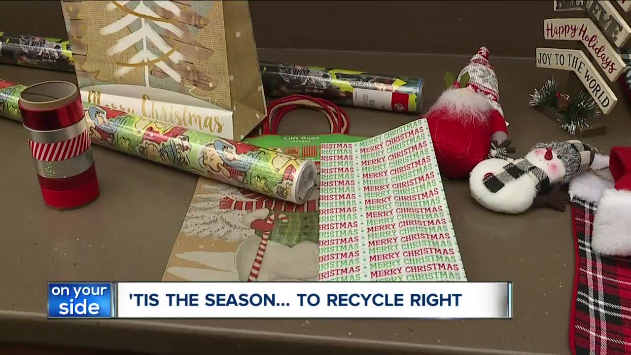 Don't recycle holiday lights, wrapping paper: what to know about holiday recycling