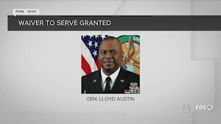 Waiver to serve granted