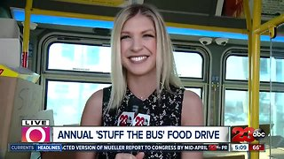 Stuff the Bus Food Drive