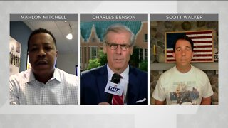 Political Panel: Scott Walker, Mahlon Mitchell join Charles Benson to talk about day three of the DNC