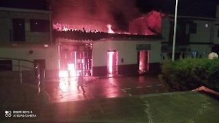 Incendio consumió vivienda en Aratoca