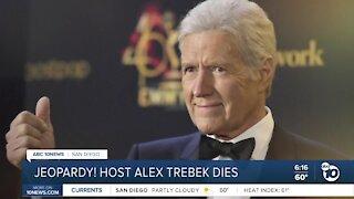 Jeopardy! host Alex Trebek dies
